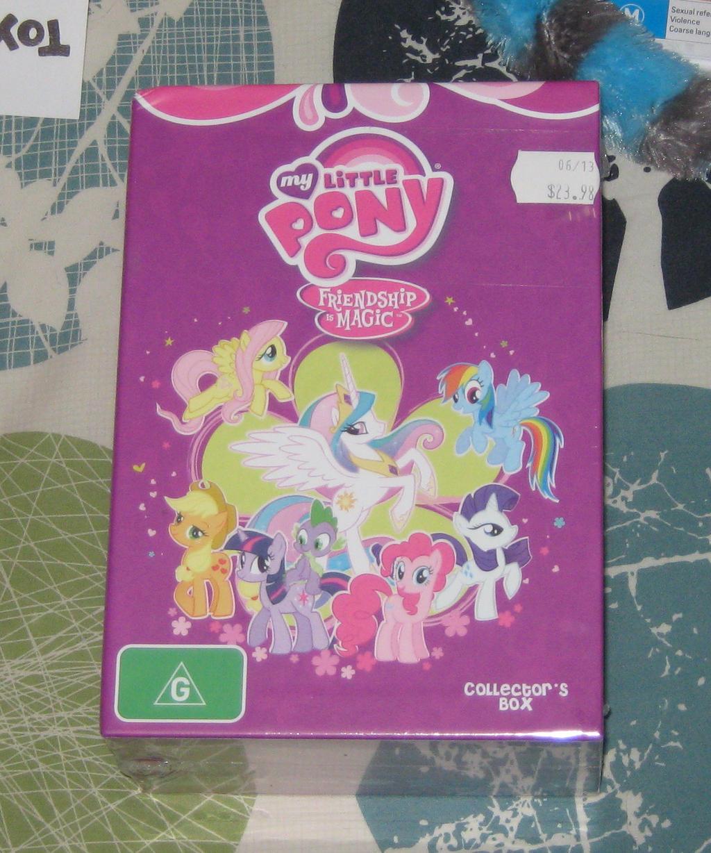Pony Video Box Season Two by CheerBearsFan