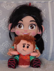 Vanellope's Ralph Plushie by CheerBearsFan