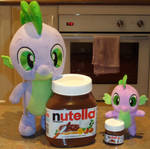 Nutella Big And Small by CheerBearsFan
