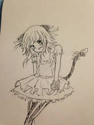 Michi's Cosplay by 46Akuma