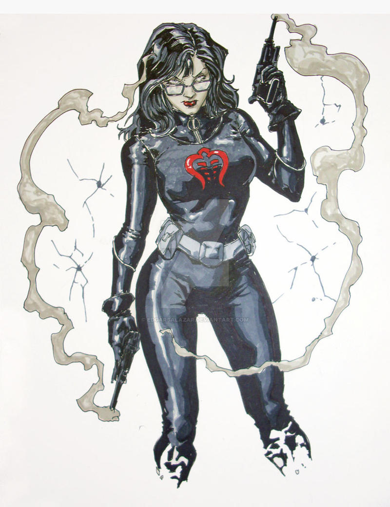 Baroness sketch SDCC 2010 by EDGARSALAZAR