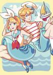 Rin + Len x SAILORS!
