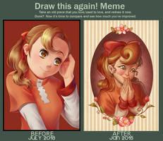 Draw this again memememe by alicenpai