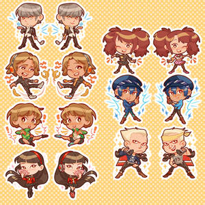 Persona 4 charms!!