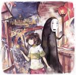 Chihiro--Spirited Away by qianshuhao