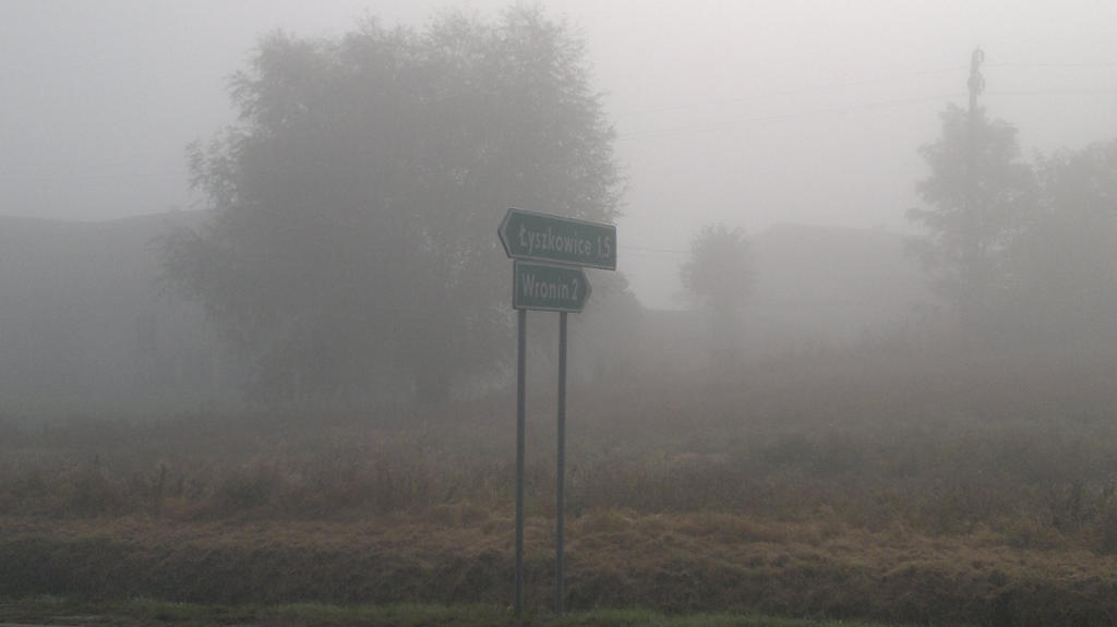 Sign on road by Pabllo13