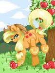 Applejack Bucking