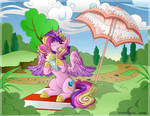 MLP Princess Cadance Collab with ShyShyOcatavia