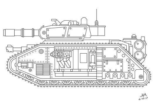 T-34, Warhammer 40K conversion