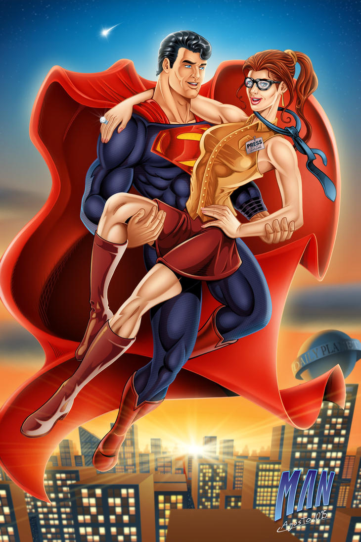 Super power couple by manthx