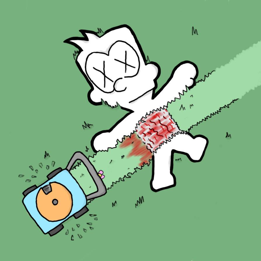 "Mr. Dummy in ""Lawnmower by Mr-Dummy"