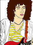 Coloured Brian May