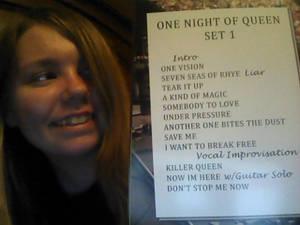 One Night Of Queen Set 1