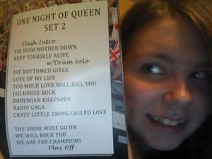 One Night Of Queen Set 2