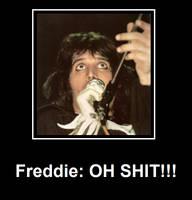 Freddie.....lol by PoppycockFanatic13