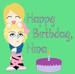 Happy Birthday, Nina