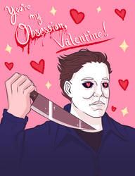 Michael Myers Valentine by PoppycockFanatic13