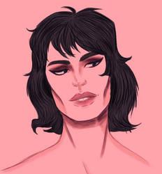 Freddie Portrait Wip by PoppycockFanatic13