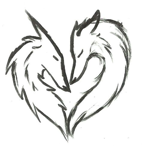 Wolf Love By Fieryhearts