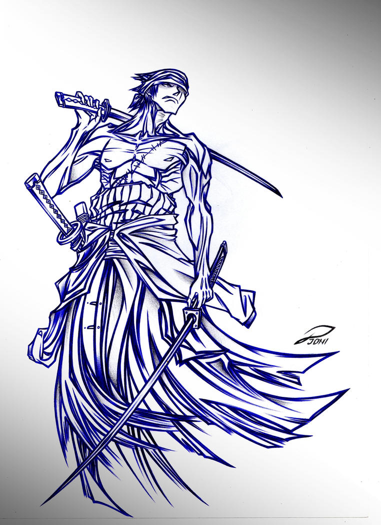 Zoro one piece by relapseinmydreams21 on deviantart for One piece dibujos