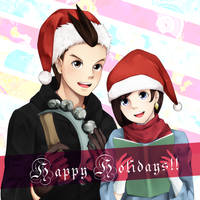 Christmas Carols by maesketch