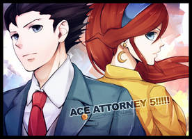 ACE ATTORNEY FIVE by maesketch