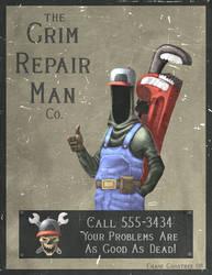 The Grim Repair Man Co. by Cgoose