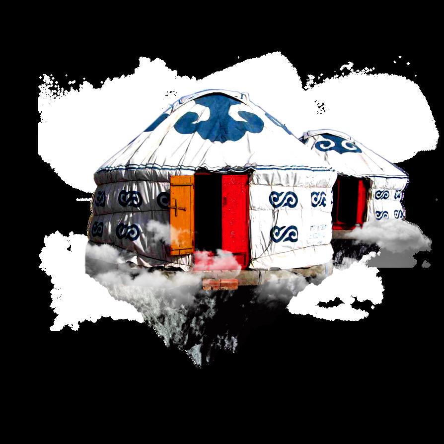 Floating Yurt by Ironic-Sarcasm