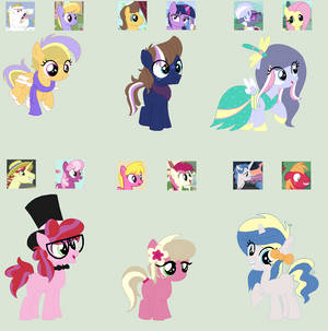 MLP Crack Shippings Adopts :1/6 OPEN: