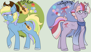 MLP Shipping Adoptables AUCTION :CLOSED: by HeavenlyBlazeAdopts