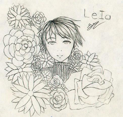 Leia by ToriNoNeko