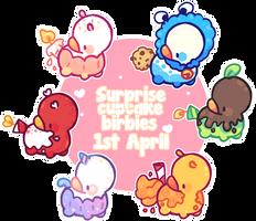 April's Surprise Birbies #1 by milkipu