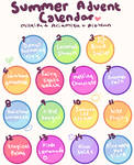 Advent Calendar: Summer mini Puppers! CLOSED