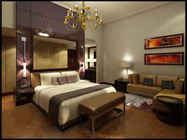 Bedroom, Vienna by Danur78
