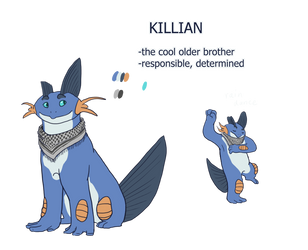 Killian Ref by Flame-Shadow