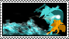 Dust and Fidget Stamp by ShinyDratini