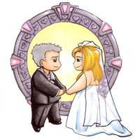 A Very Stargate Wedding by FlidgetJerome