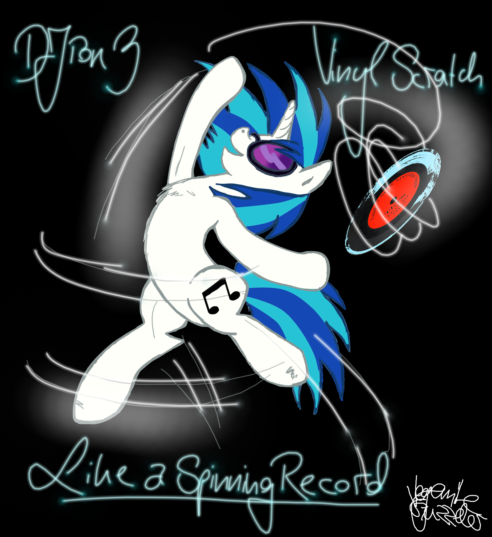 Like A Spinning Record by VegemiteGuzzler