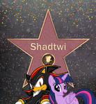 Shadtwi Got a star on the walk of fame by balabinobim