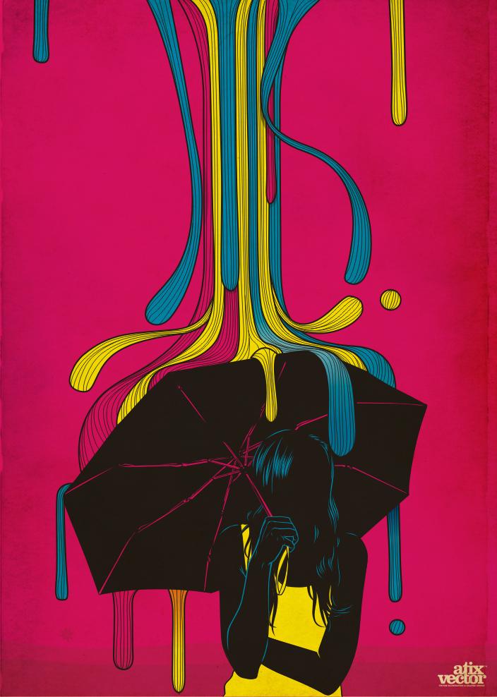 BUEN TIEMPO by AtixVector Digital Art Inspiration: CMYK Artworks & Graphic Designs