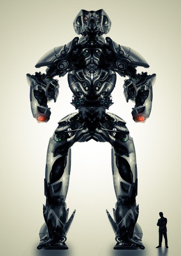 Robot concept by ChristianBT
