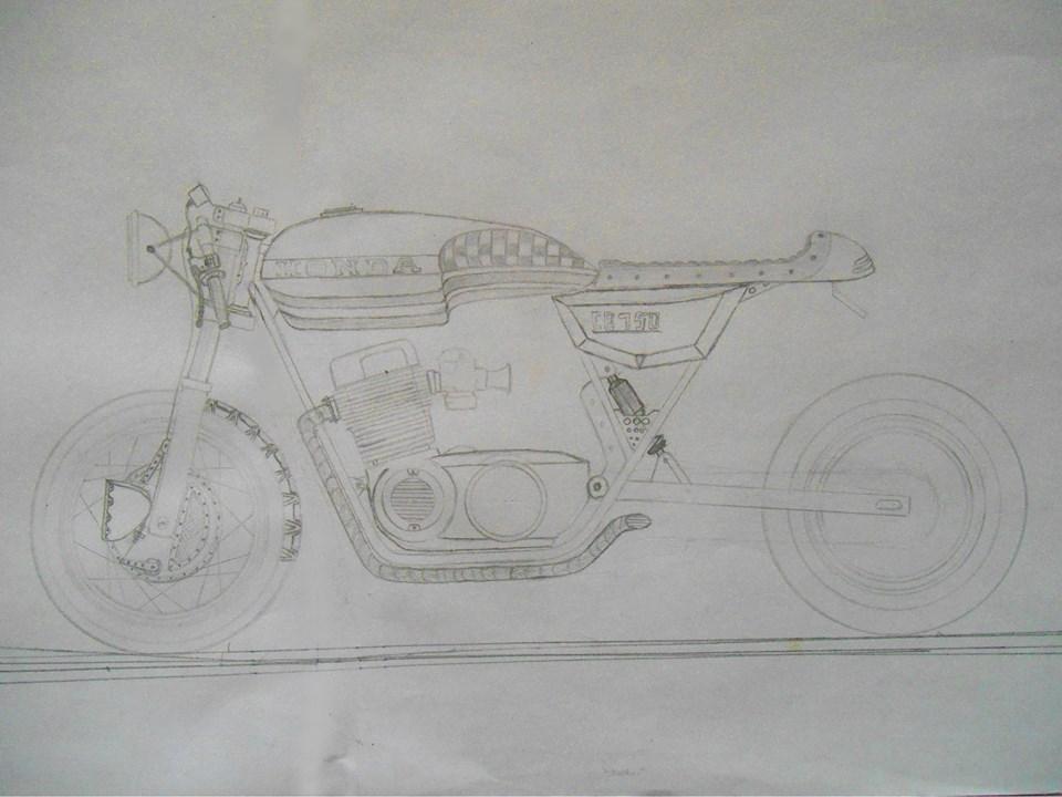 Honda CB 750 by Axel-Sniper