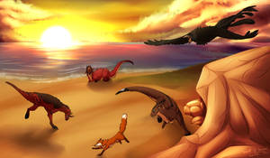 Fox Hunt at the Beach