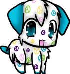 Webkinz Peace Puppy