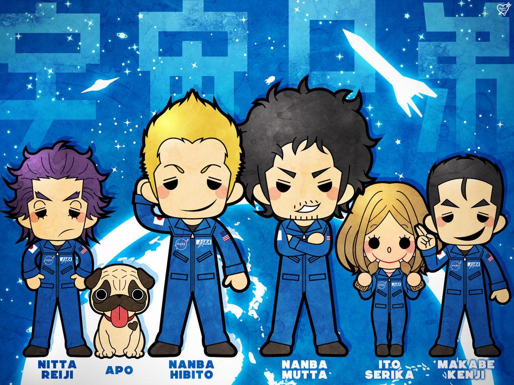 [ANIME/MANGA] Space Brothers (Uchuu Kyoudai) Space_brothers_by_modanspank-d6ggz29