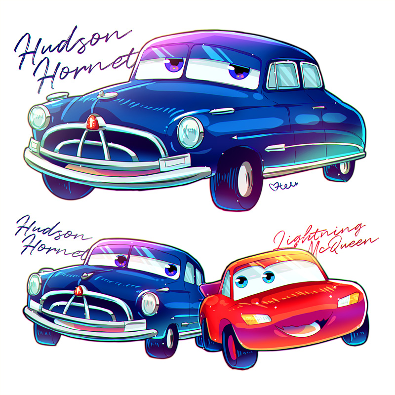doc hudson and lightning mcqueen by modanspank on deviantart. Black Bedroom Furniture Sets. Home Design Ideas