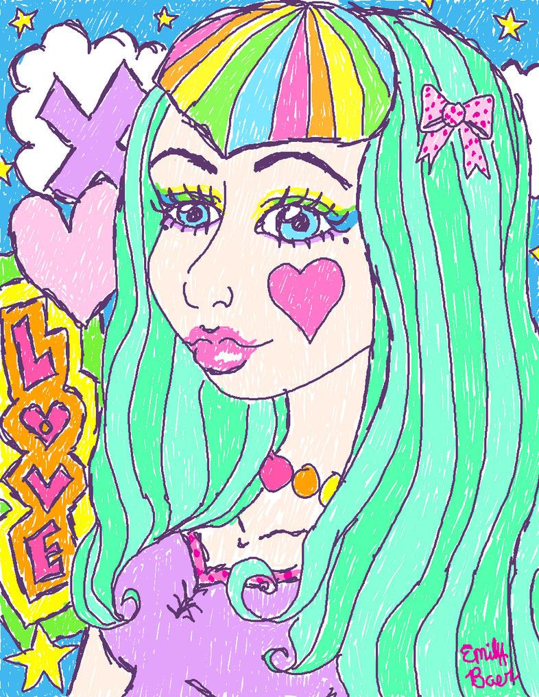 Rainbow Bangs by xxxmikanbouyaxxx