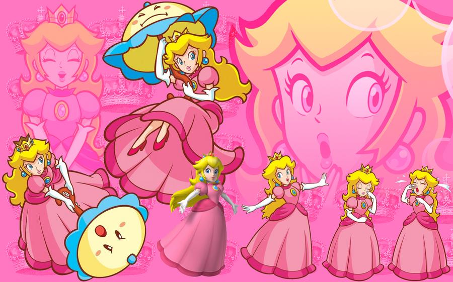 Princess Peach Wallpaper by xxxmikanbouyaxxx on DeviantArt