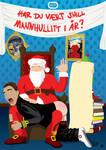 Jule plakat for Mannhullet