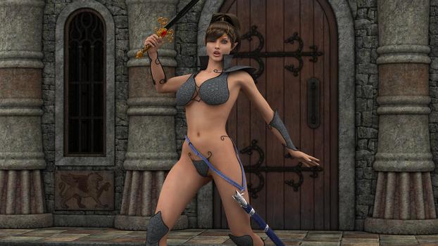 sexy 3D elf a